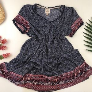 Boho festival style Knox Rose plus size dress